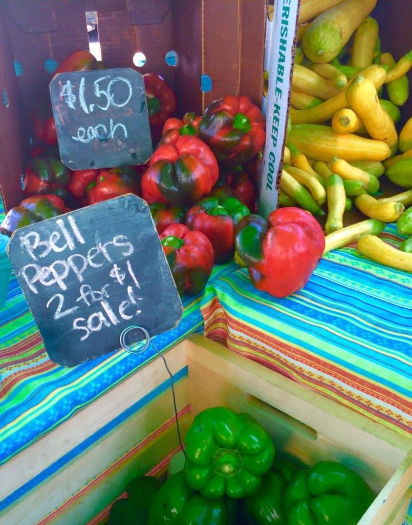 Crescent City Farmer's Market Produce (Froeba)