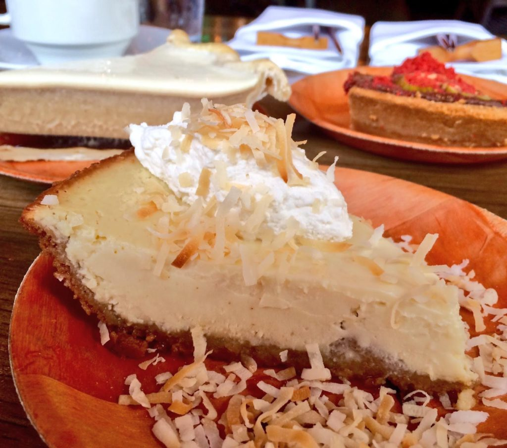 Summer Pie with Coconut Flakes (Kristine Froeba)