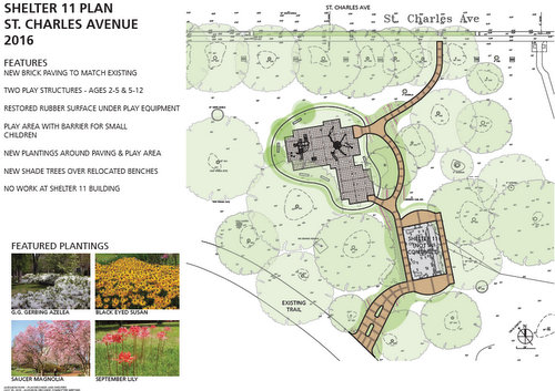 The plan to improve the area around Shelter 11. (via Audubon)