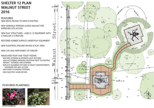 The plan to improve the area around Shelter 12. (via Audubon)