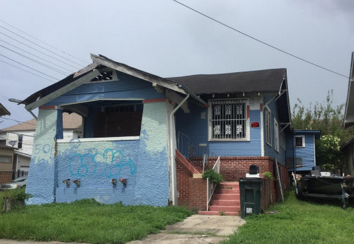 The house at 2139 Peniston (via City of New Orleans)