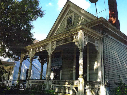 The house at 704 Nashville Avenue. (via City of New Orleans)