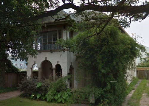 "The home at 2519 Napoleon Avenue, purchased by Ochsner Clinic Foundation in 2015 and now slated for ""institutional"" land-use. (via Google)"