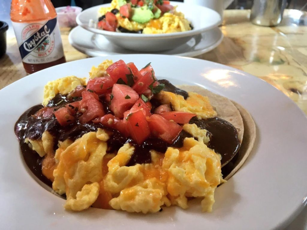Huevos Rancheros Scrambled (Kristine Froeba)