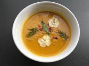 Butternut Squash Soup (Kristine Froeba)