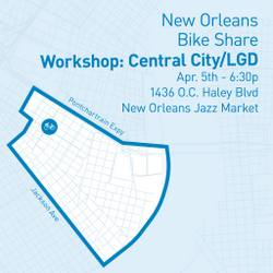 Workshop to discuss Uptown locations for New Orleans bike share ...