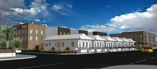 Bon A Rendering Of The Proposed Storage Facility Along Tchoupitoulas Street.  (via City Of New Orleans)