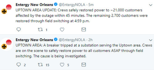 Thousands of Uptown residents lose power after substation