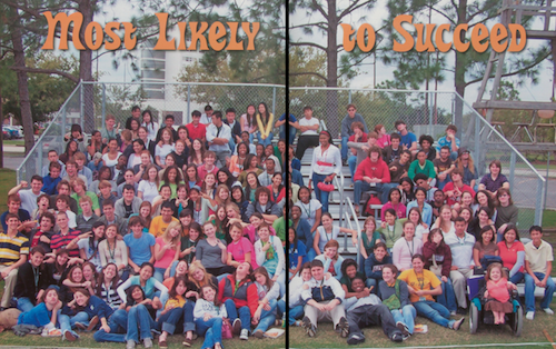 Benjamin Franklin High School Most Likely to Succeed class picture