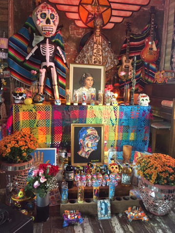 Day of the Dead altar from 2015. (Courtesy of Casa Borrega)