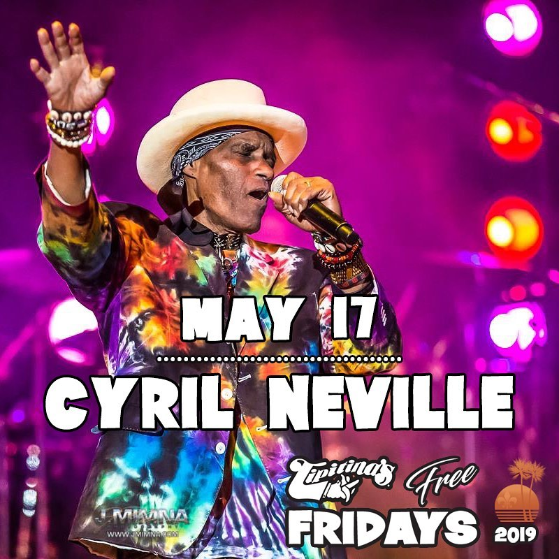 Cyril Neville at Tipitina's Free Fridays