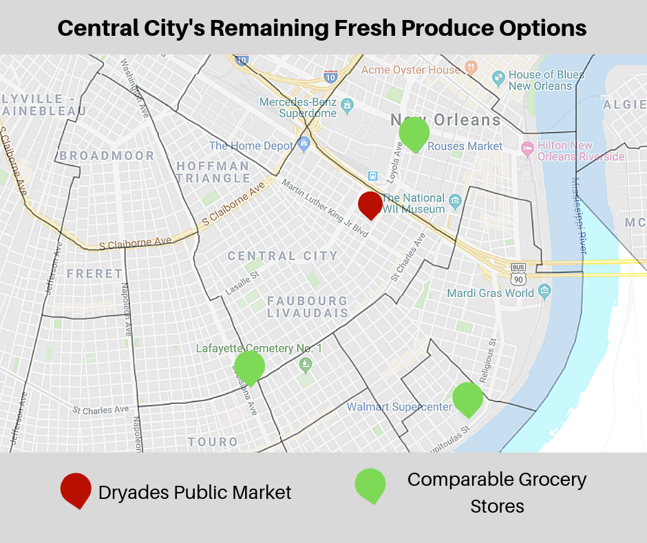 Dryades Public Market Closure Puts Central City In A Food Desert