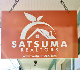 Satsuma Realtors sign