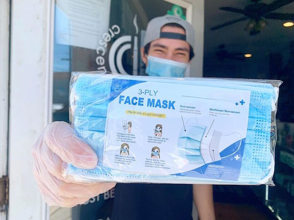 PPE masks by Simply CBD